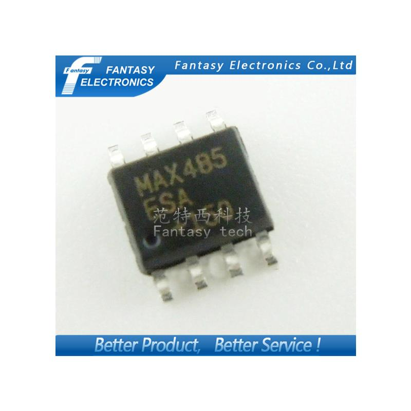 IC 100pcs max485cpa dip8 max485 dip max485cp rs 485 rs 422 transceivers new and original free shipping