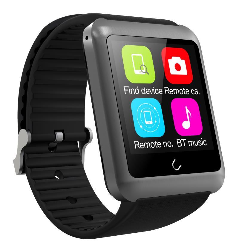 Uwatch Серый цвет умные часы kaboson h8 ios