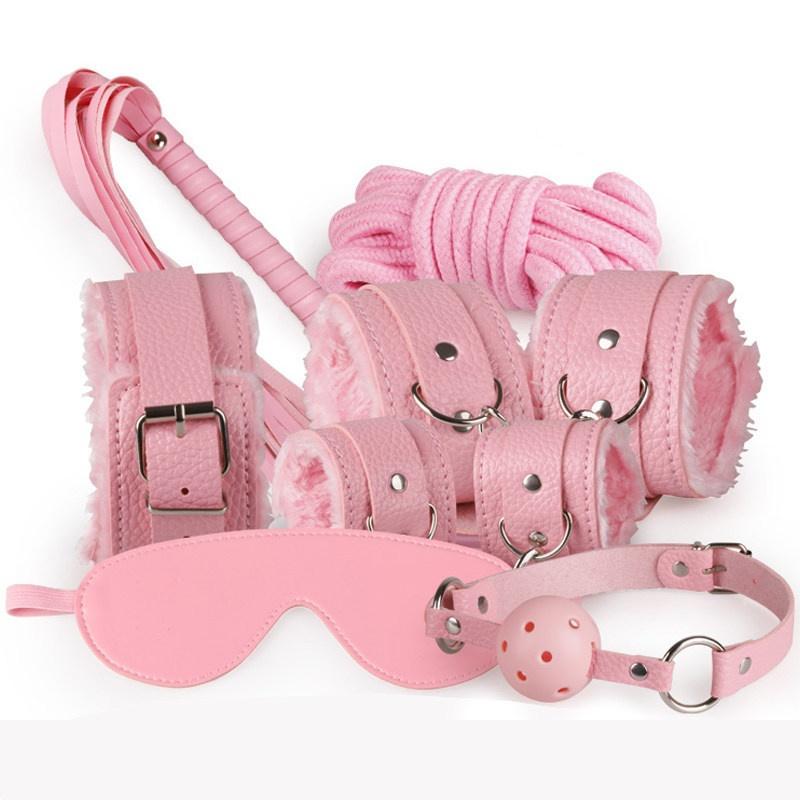Розовый Бесплатный размер мягкий хлопок бондаж веревка 10м 35ft кудрявый sm фетиш секс игрушки 470018