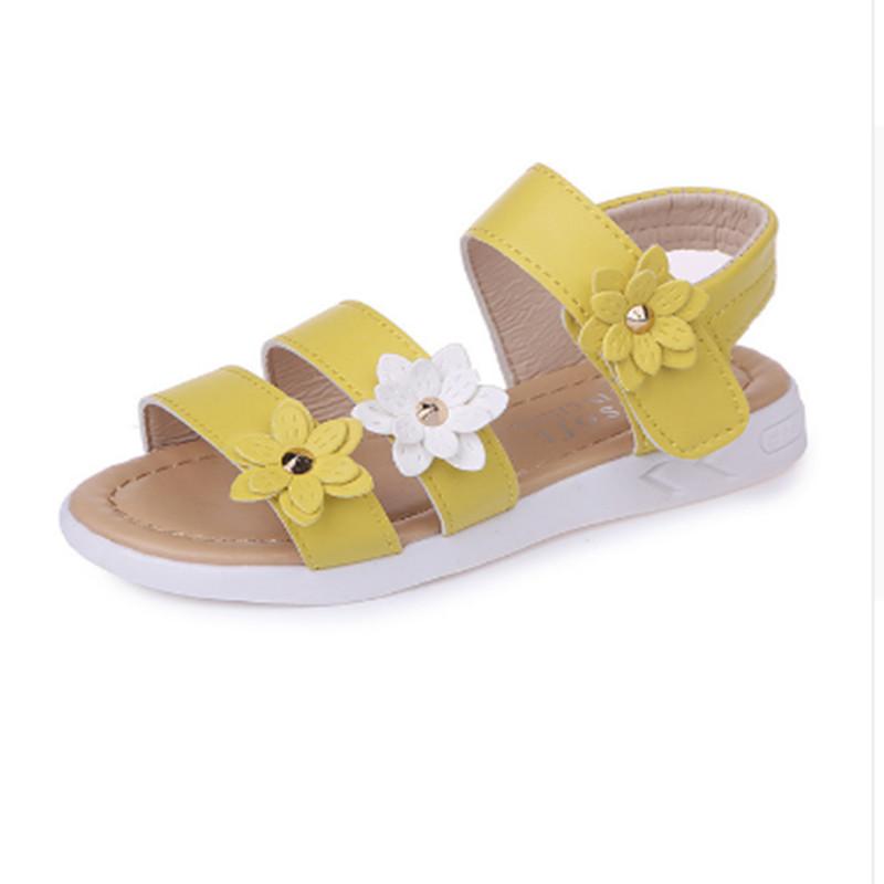 TOSJC Жёлтый цвет 95 ярдов Шелопугино обувь для девочки