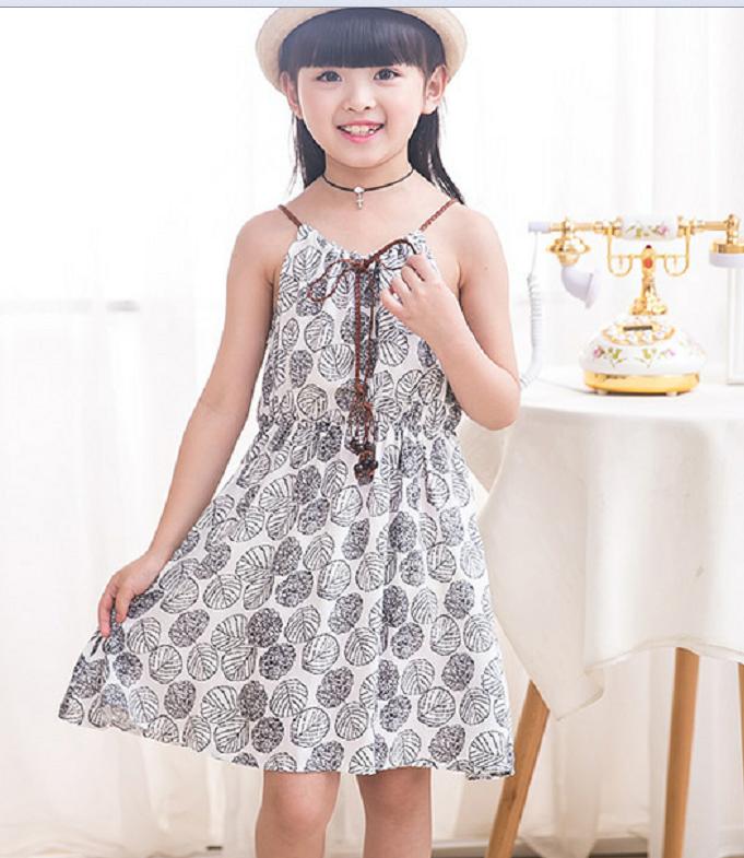 Темно-синий 120 2018 мода детское платье летнее платье baby girl платье милые девушки платье партии платье платье