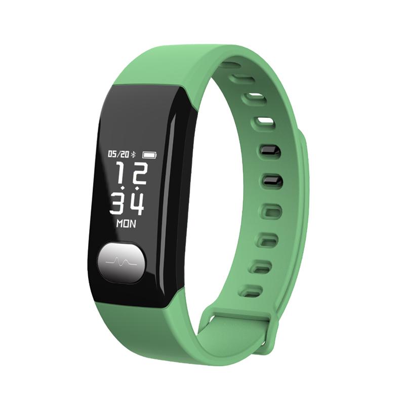 Мониторинг сердечного ритма Мониторинг артериального давления Мониторинг Smart Bracelet 9Tong Зеленый Смарт-браслет фото