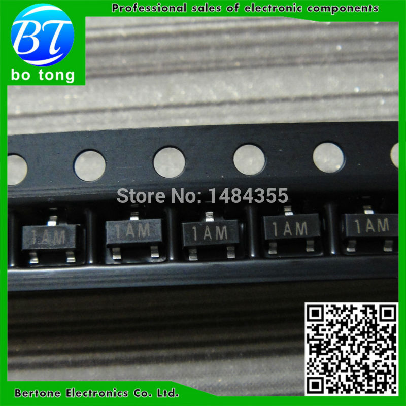 IC free shipping 100pcs lot mmbt3906 2a 0 2a 40v pnp sot23 smd triode transistor