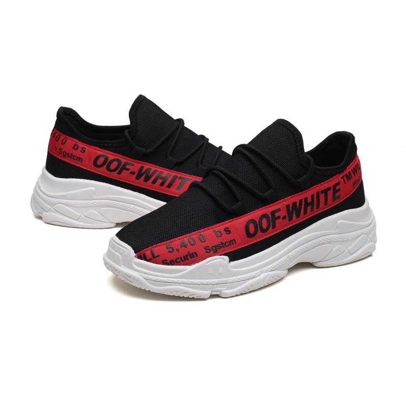 FU SHI KANG Красный цвет 41 9 кабинета досуг вентиляция мужская обуви туфли мода поп ст