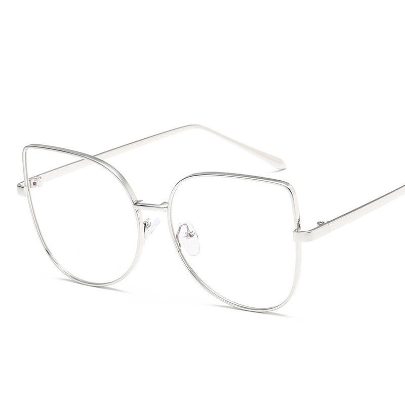 Sisjuly Серебряный Классические очки 2016 women metal frame sexy cat eye sunglasses coating vintage sun glasses female oculos de grau femininos uv400