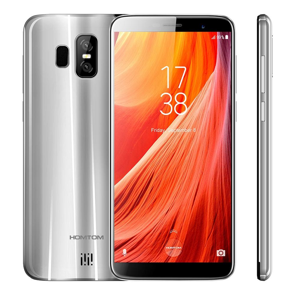 HOMTOM Серебряный Стандарт ЕС примечание geotel экран hd 5 5 дюйма 3гб озу 16 гб пзу 8 0mp mt6737 quad core 4g lte android 6 0 смартфон 3200mah