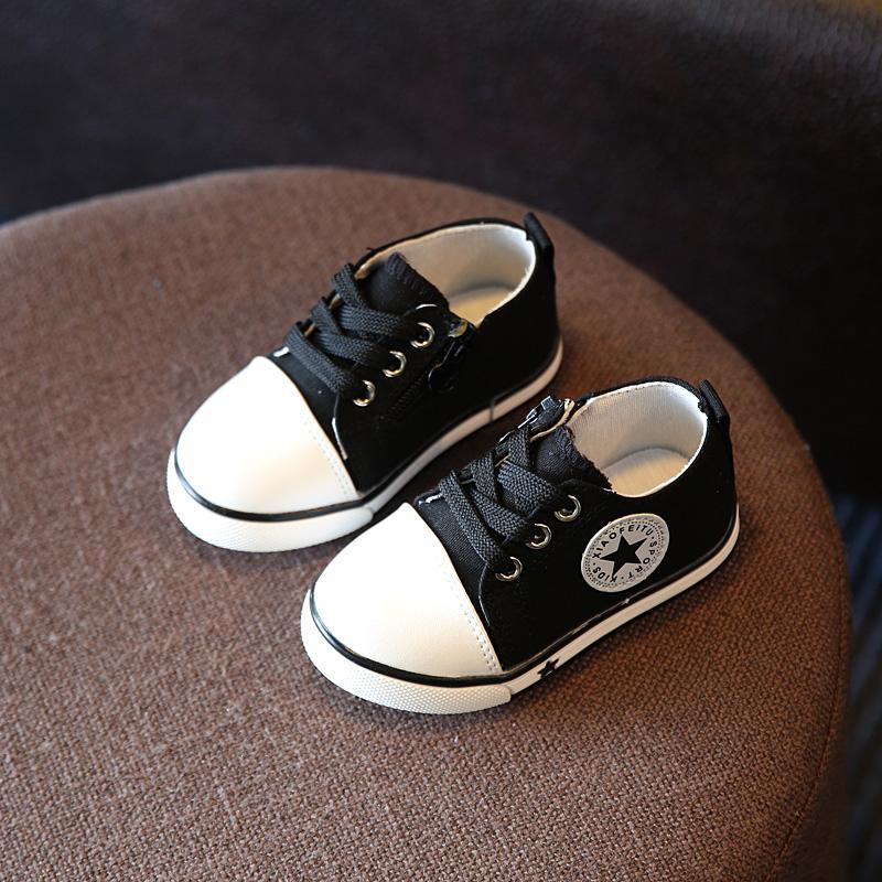 Детская обувь TOSJC Чёрный цвет 55 фото