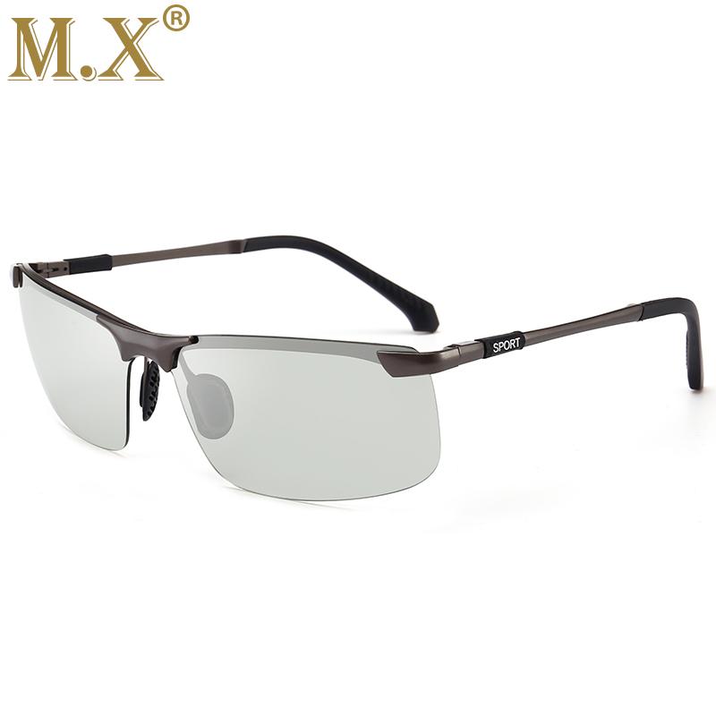 MX Серый Фотохромные солнцезащитные очки