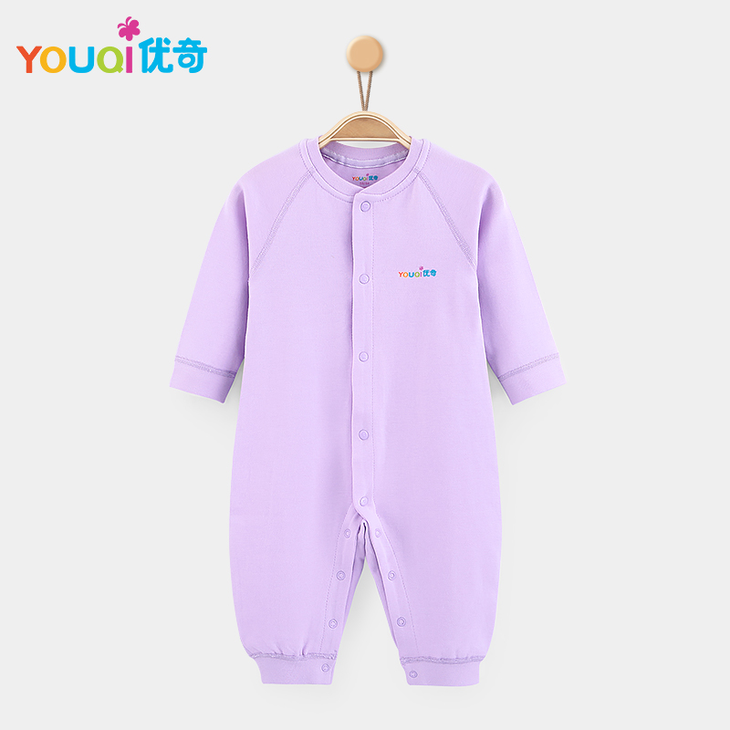 Фиолетовый цвет 18-24 Months newborn baby boy girl infant warm cotton outfit jumpsuit romper bodysuit clothes