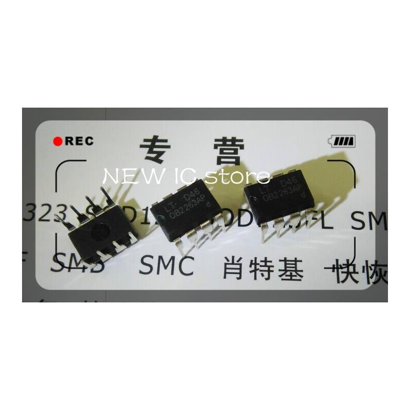 IC free shipping 10pcs ob2263mp ob2263 chip type is 63a lcd 236