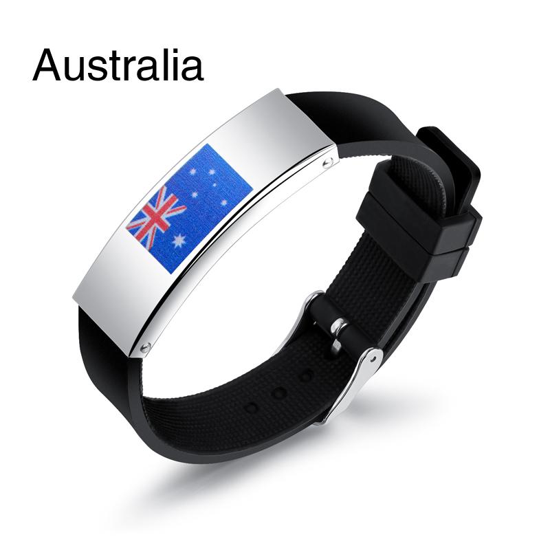 Colorful panda Австралия u7 широкий браслет часов реального позолоченные моды мужчин украшения оптовой новой модной уникальный 1 5 см 20 см звено цепи браслеты