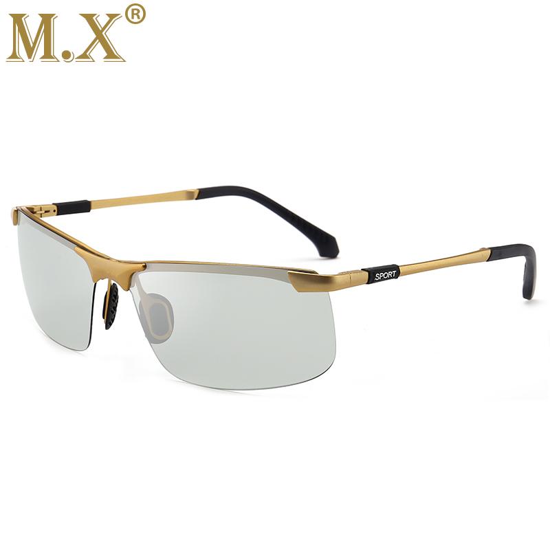 MX Золотой Фотохромные солнцезащитные очки