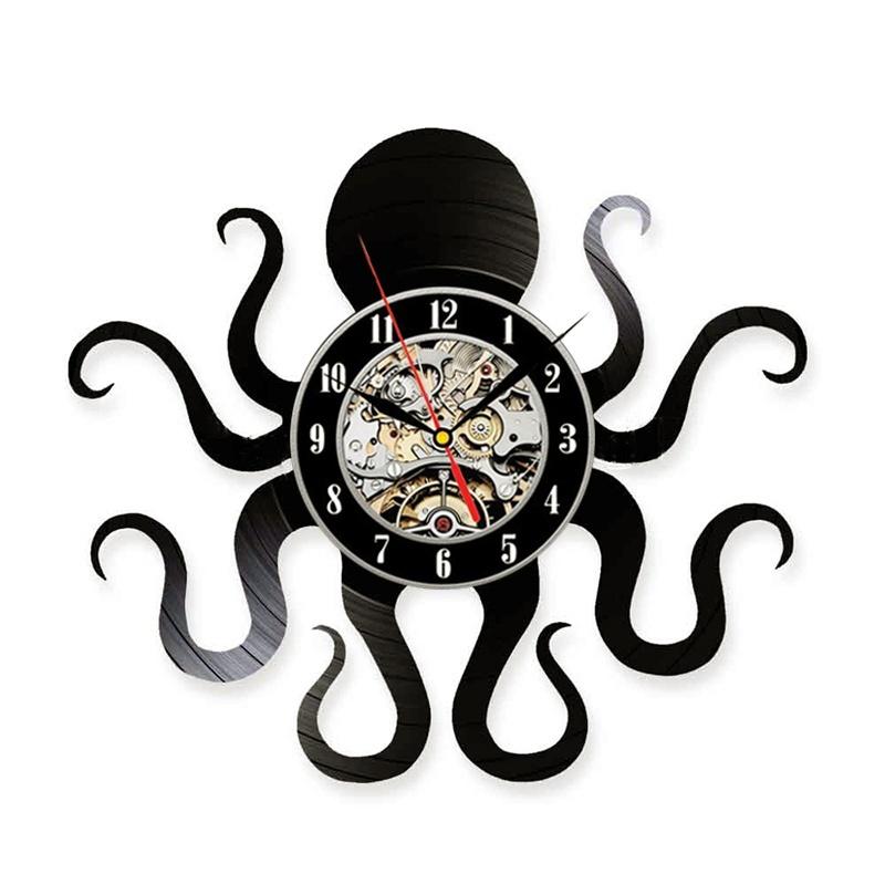 Кухонные настенные часы BOGAO черный фото