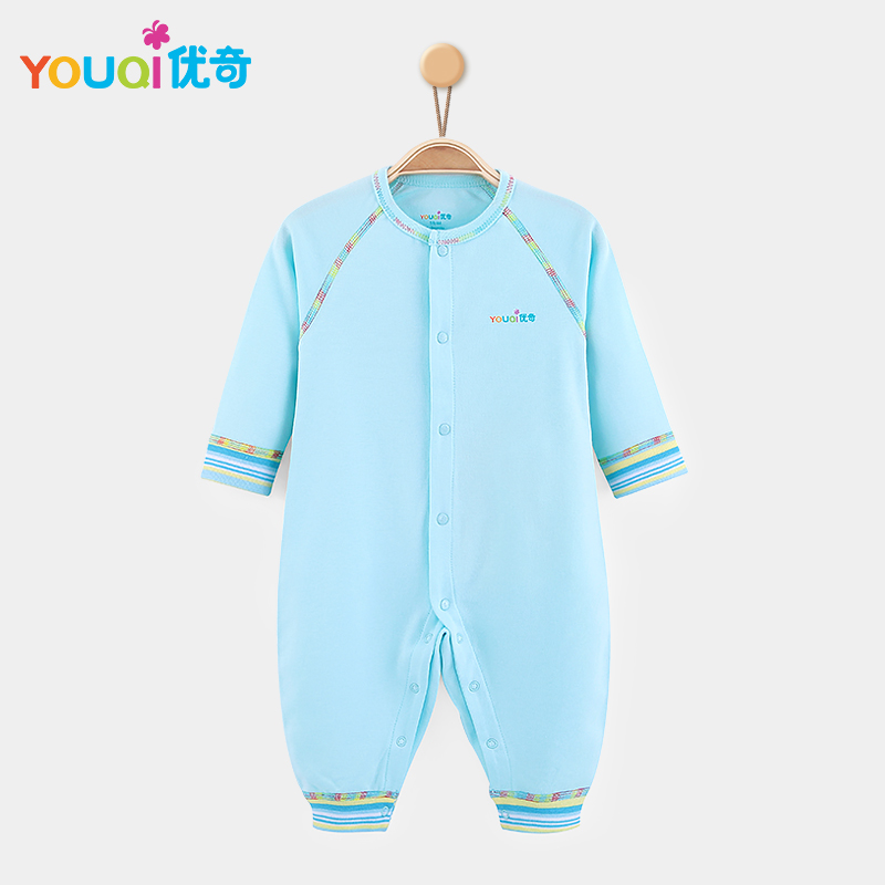 Синий цвет 3-6 Months newborn baby boy girl infant warm cotton outfit jumpsuit romper bodysuit clothes