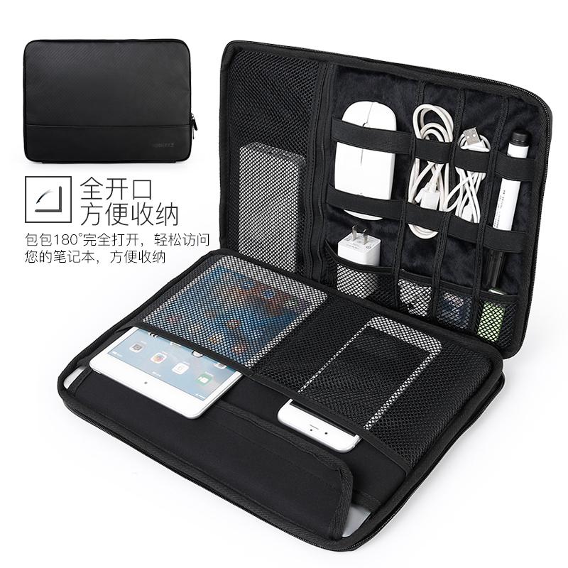 JD Коллекция черные полосы По умолчанию компьютерная сумка phlees 15 6 дюймовый классический ноутбук для ноутбука air macbook pro бежевый