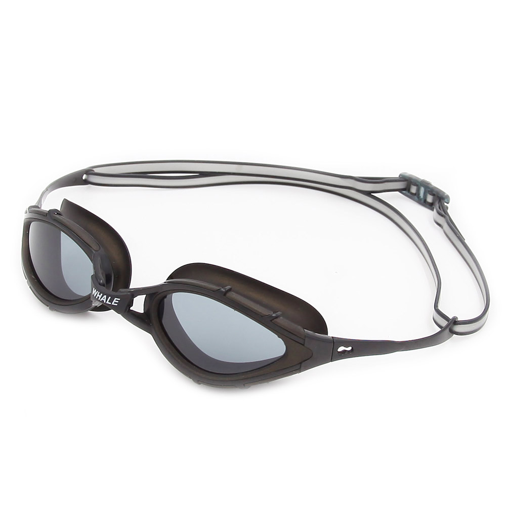 BENICE черный очки плавательные larsen s45p серебро тре