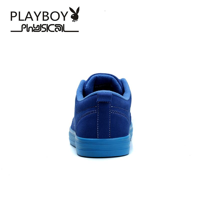 PLAYBOY Синий цвет 75 ярдов плейбой бренд отдых спорт корейски мужские ботинки