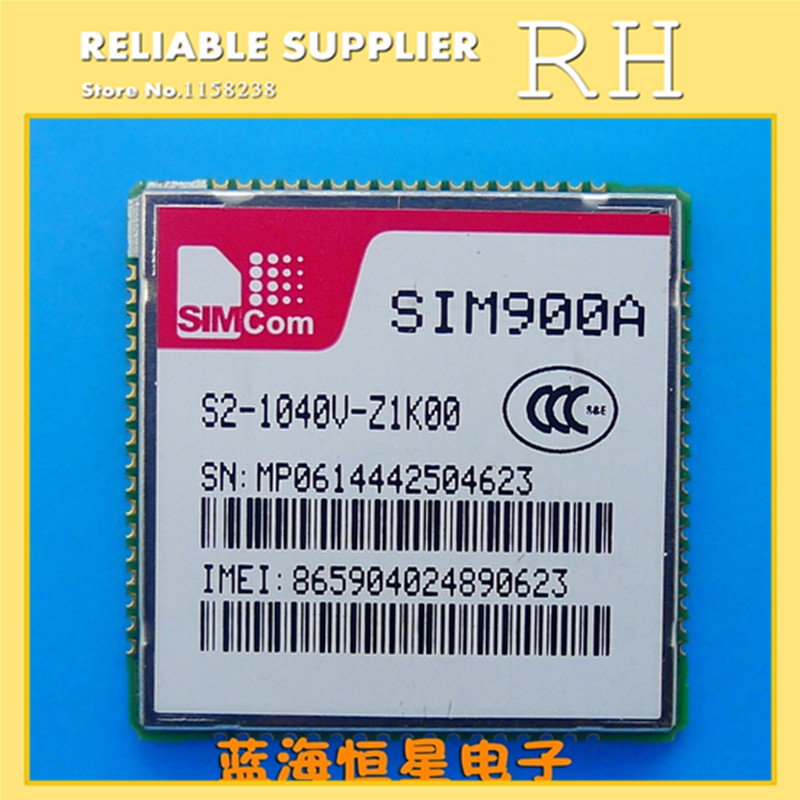 IC 1pcs sim900a smd sim900 gsm gprs module new and original ic free shipping