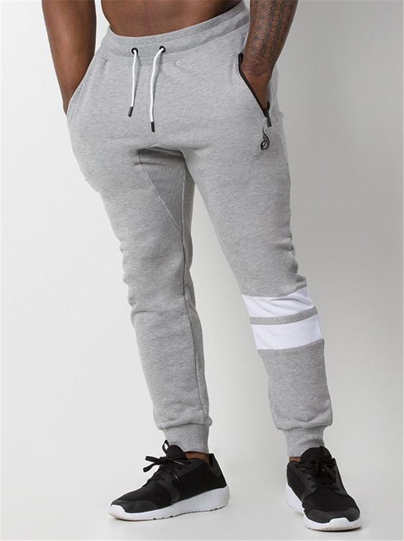 Sisjuly Серый цвет Номер XL мышцы д р братья мужские осенние и зимние новые фитнес спорт и отдых открытый тренировочный хлопок тонкие брюки моды