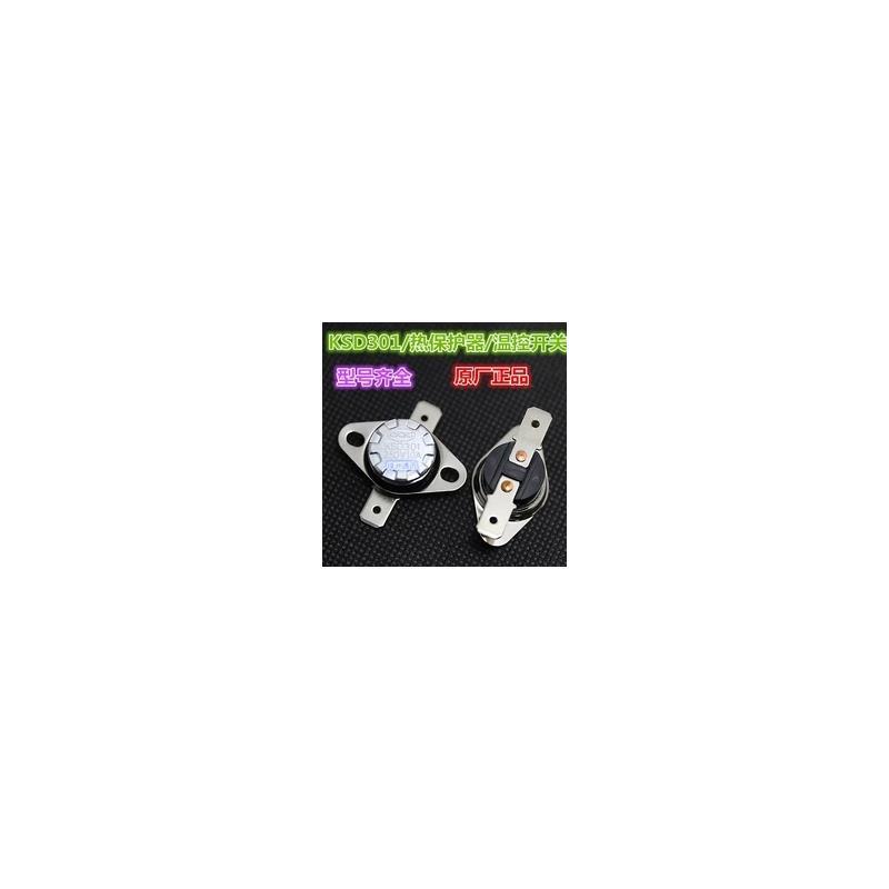 IC 1pcs ksd302 16a 250v 40 130 degree ceramic ksd301 normally closed temperature switch thermostat 45 55 60 65 70 75 80 85