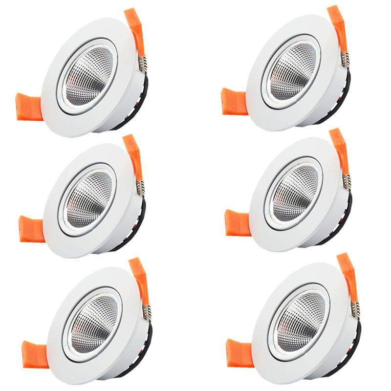 beeled LED 6pcs lot 100