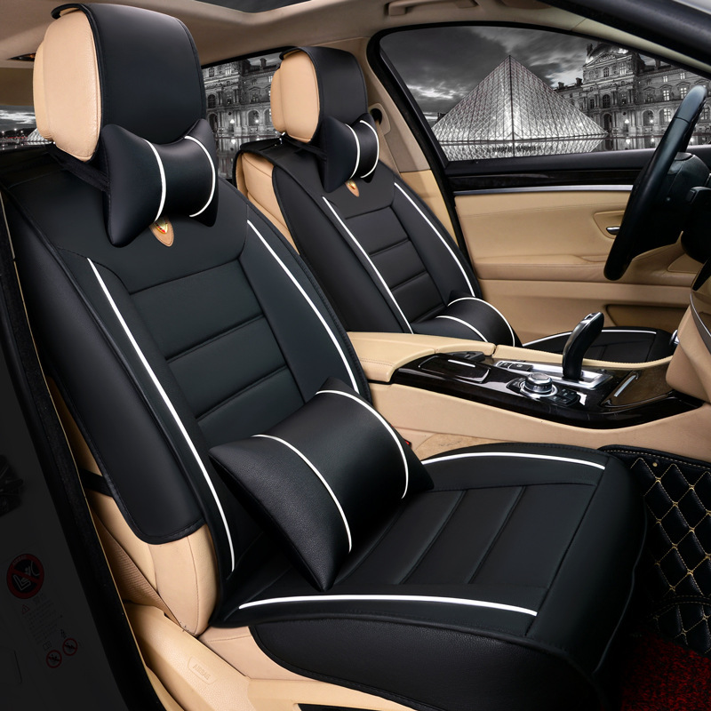 To Your Taste auto accessories Black Деловая одежда universal car seat covers for volkswagen vw passat b5 b6 b7 polo 4 5 6 7 golf tiguan jetta touareg kia car accessories styling