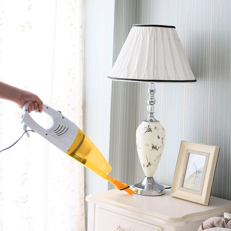j iaweishi Желтый Евровилка puppyoo low noise home rod vacuum cleaner handheld dust collector household aspirator white