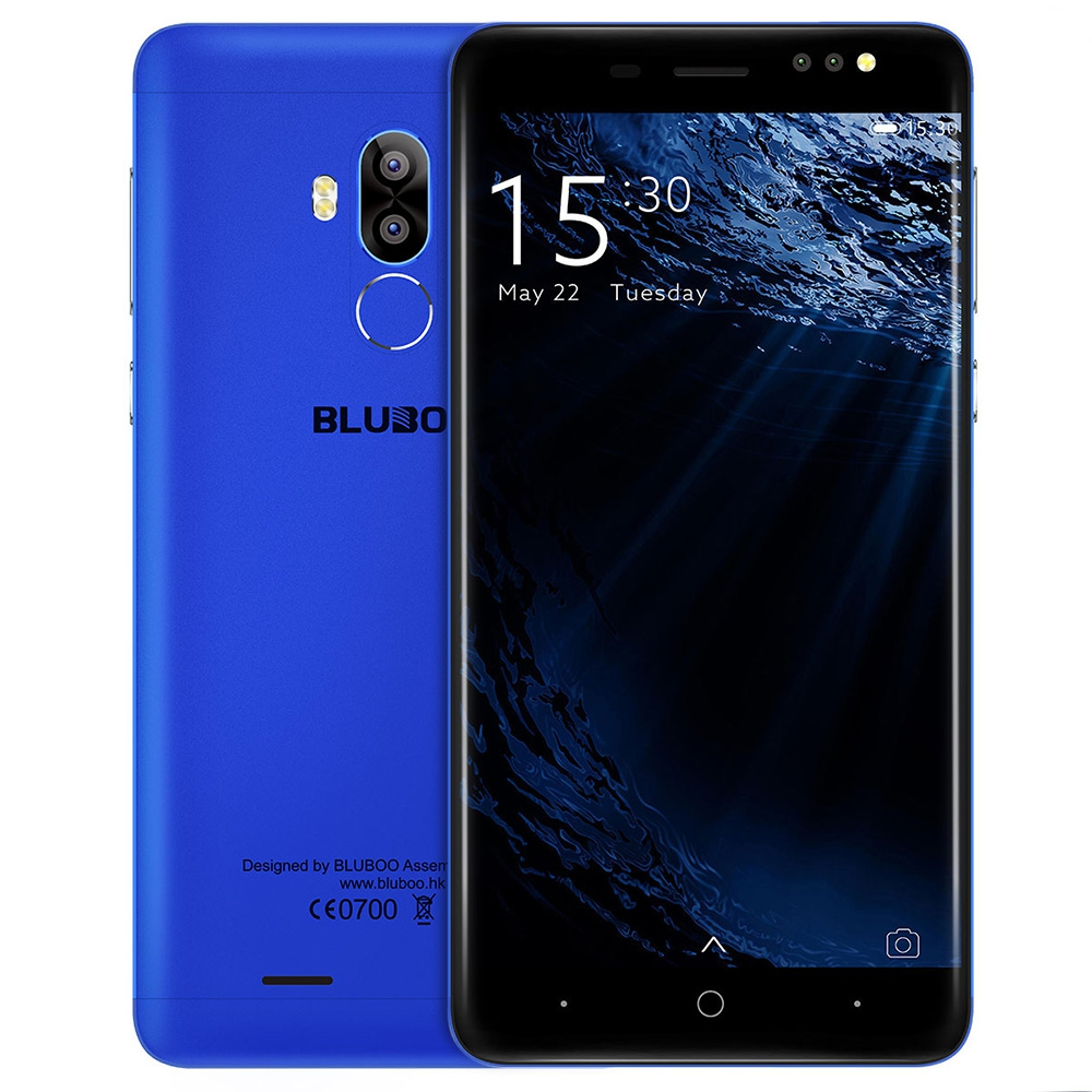 BLUBOO синий Стандарт ЕС bluboo d2 3g smartphone 1gb ram 8gb rom двойные задние камеры 5 2 дюймовый android 6 0 quad core mtk6580a