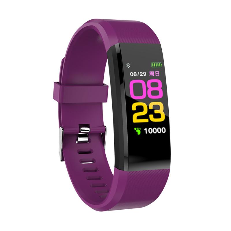 HRAEFN Пурпурный Смарт-браслет monitor 19