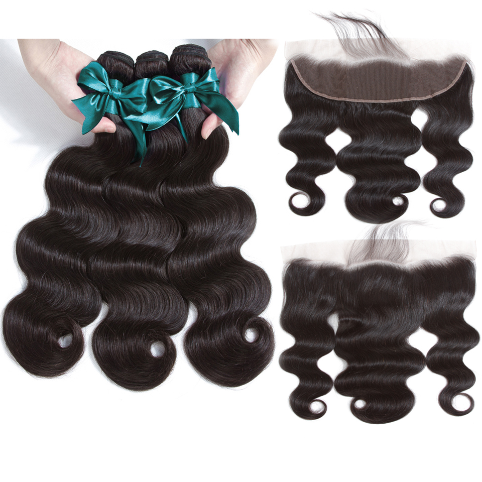 cy may hair 14 14 14 с 12 13x4 ear to ear lace frontal closure with bundles 7a brazillian virgin hair 3 bundles with frontal closure body wave human hair