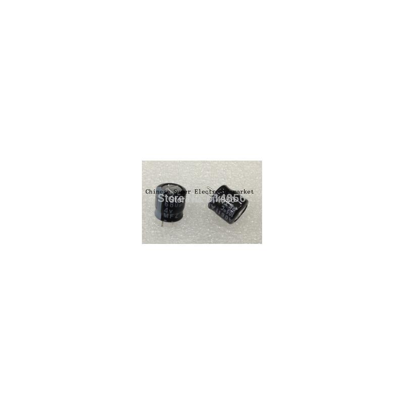 IC 10pcs 680uf 4v 8 8mm aluminum solid electrolytic capacitors