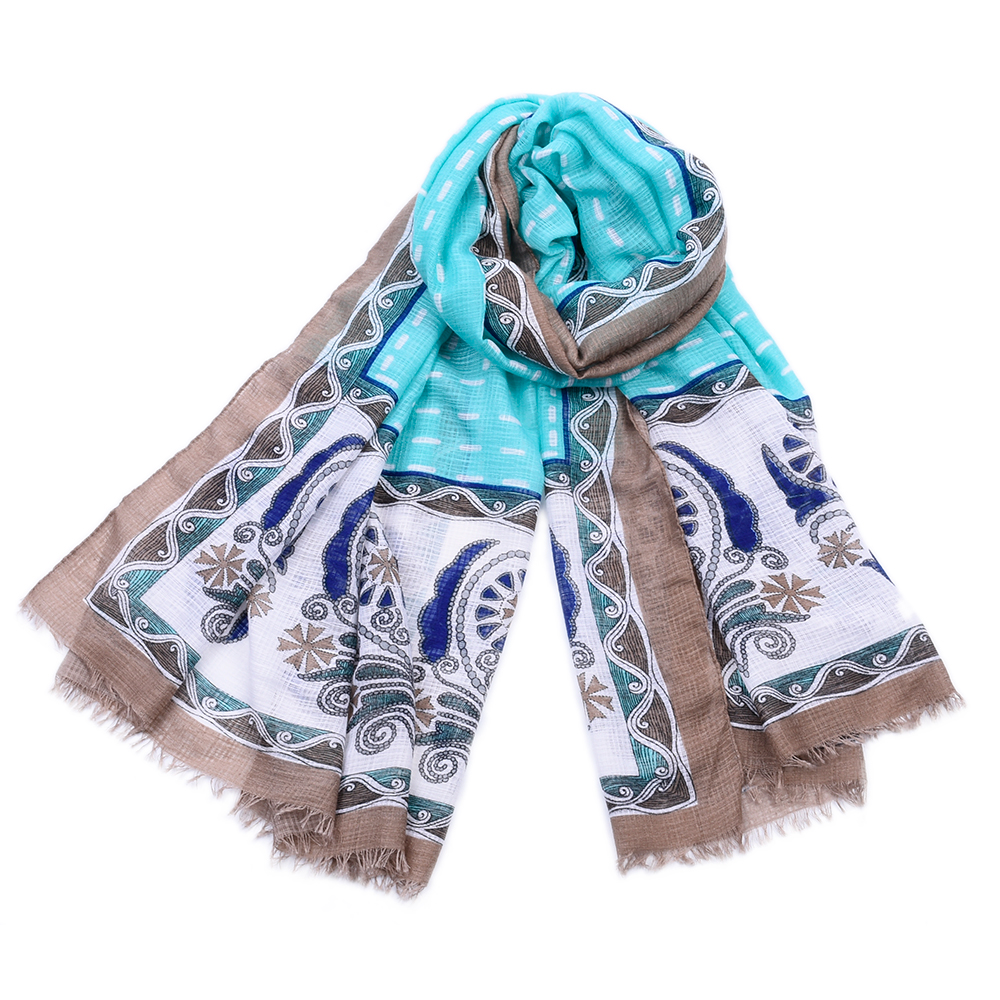 JeouLy Голубое небо 175см шарфы foxtrot шарф изабелла