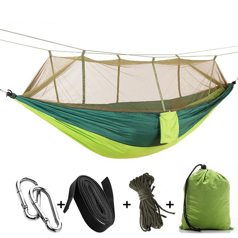 shiyi Зеленый цвет двойной гамаки kett up подвесной гамак кокон 110 см