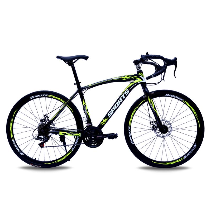 BYUEBIKE черный и зеленый 40 нож 24 скорости велосипед geuther велосипед my runner серо зеленый