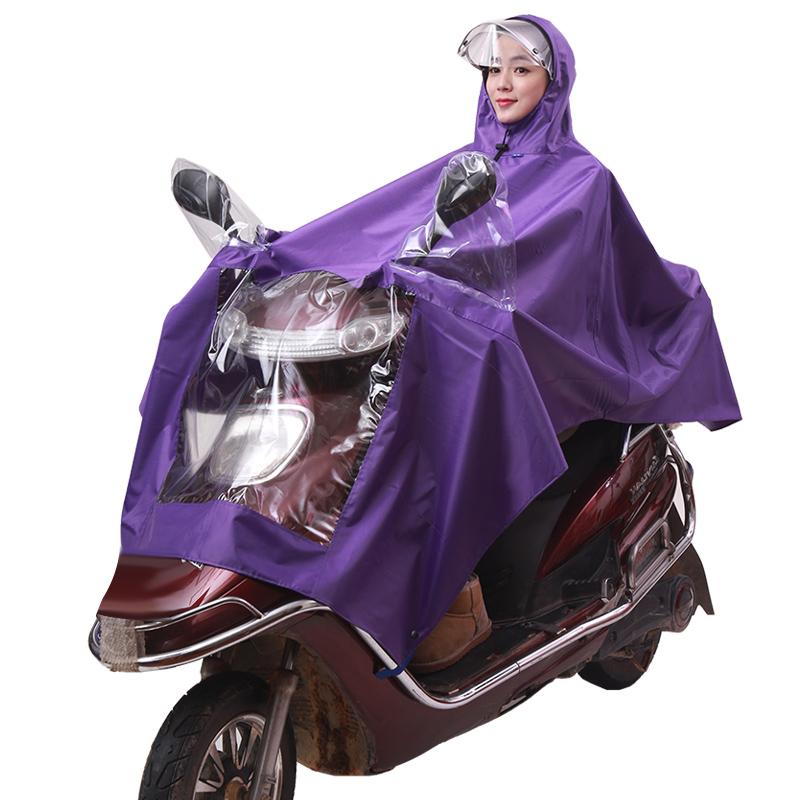 JD Коллекция фиолетовый kendo открытый верховая езда взрослый велосипед плащ мужской и женский одиночный пончо увеличить утолщение z 1 темно синий 3xl