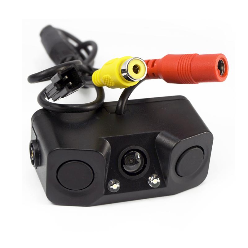 автомобильная камера заднего вида 2 датчика стоимость