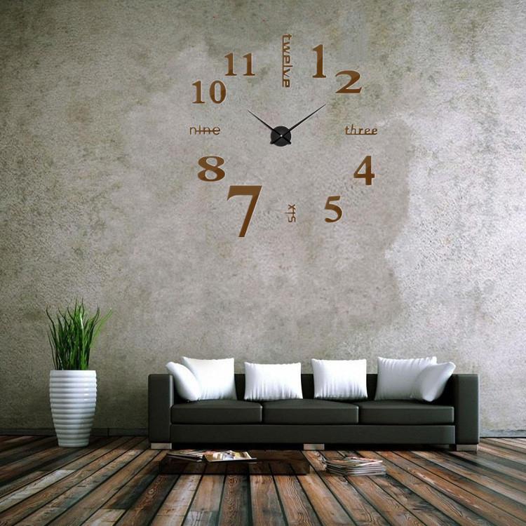 suwumu Коричневый цвет настенные часы sinix 501 p