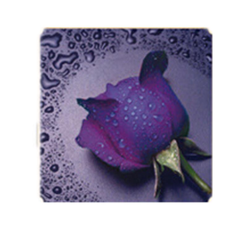 HelloYoung Фиолетовый алмазная вышивка леди роза 30x40см