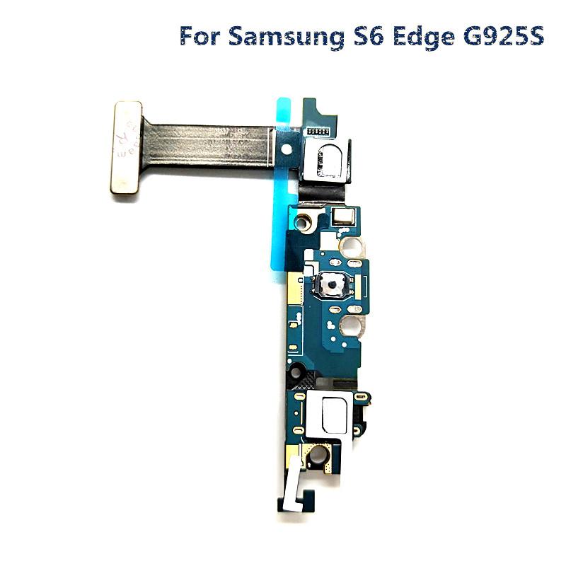 jskei Для Samsung S6 Edge G925W8 charging port dock connector flex cable for samsung galaxy s6 edge g925f g9250 g925t g925p g925v g925a g925i g925w8 g925s