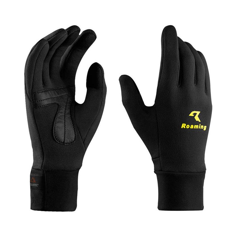 Перчатки для мужчин перчатки для женщин зимние перчатки наружные перчатки походные перчатки Roaming черный S фото