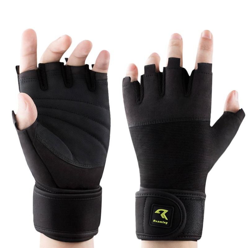 Спортивные перчатки для фитнеса перчатки для пауэрлифтинга glvoes перекрестные тренировочные перчатки Roaming черный L фото