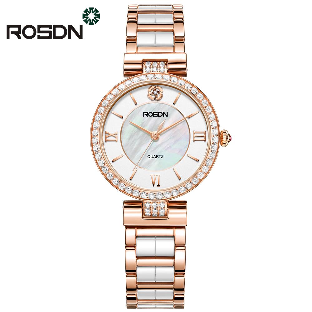 ROSDN Красная роза 2017 мода yazole часы женские наручные часы женские наручные часы женские уникальные часы элегантные кварцевые часы