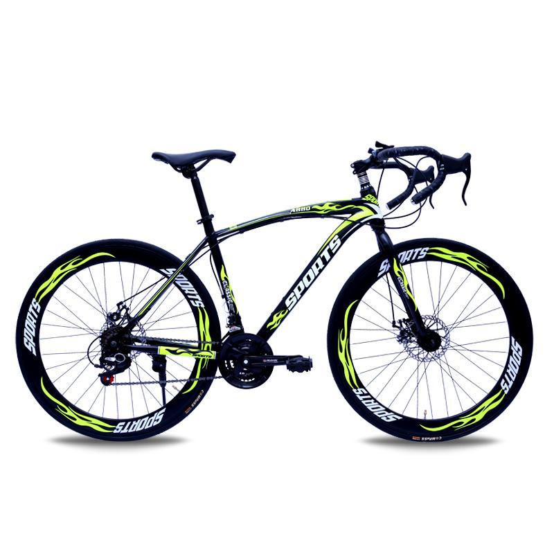 BYUEBIKE черный и зеленый 60 нож 21 скорость