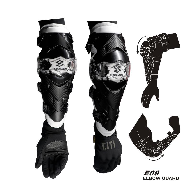 cuirassier E09 Белый Свободный размер защитные колпаки для мотоциклов kneepad protective kneepad protector mx off road