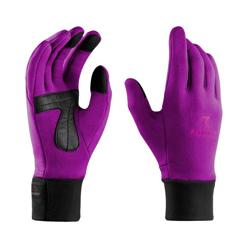 Перчатки для мужчин перчатки для женщин зимние перчатки наружные перчатки походные перчатки Roaming Пурпурный S фото