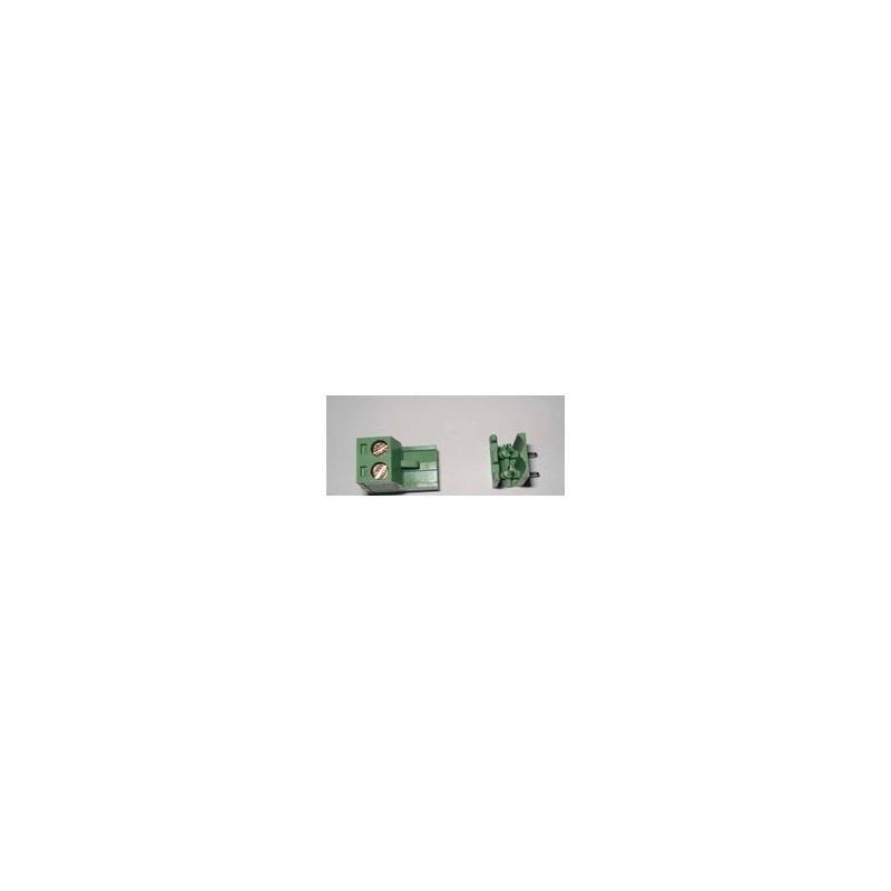IC 10pcs kf 301 3p 3 pin screw terminal block connector 5 08mm pitch