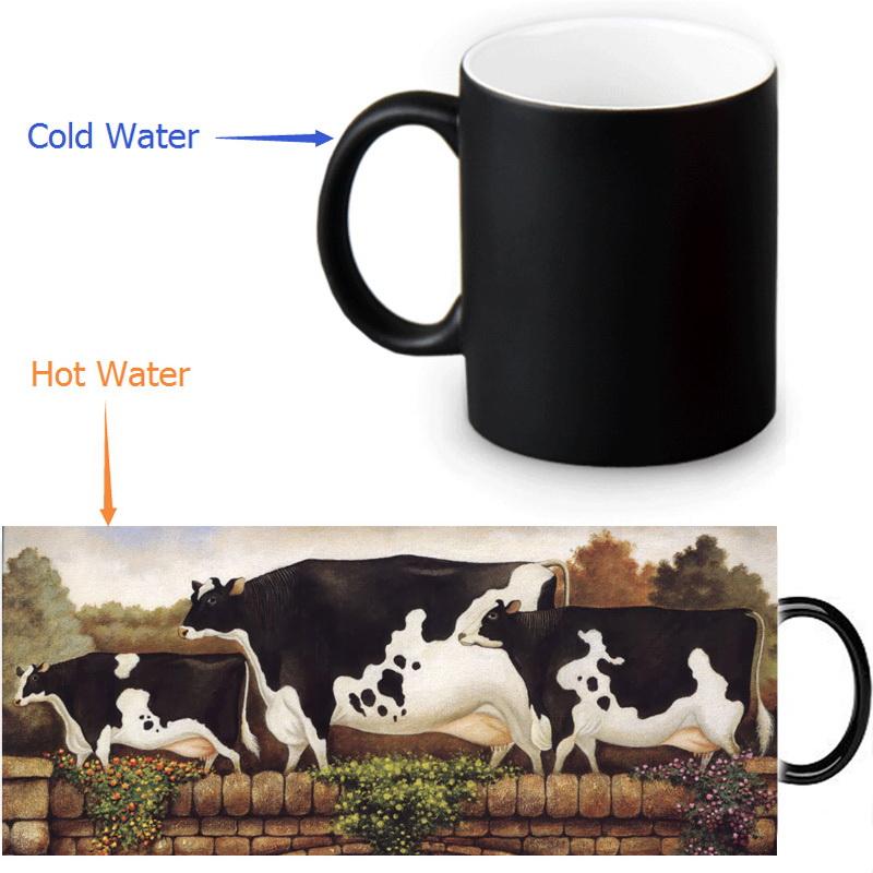 HUOSOOYUN 8 рисованные креативные кружки для кофе чашка для чая чашка для завтрака керамическая чашка для молока комплект из 4