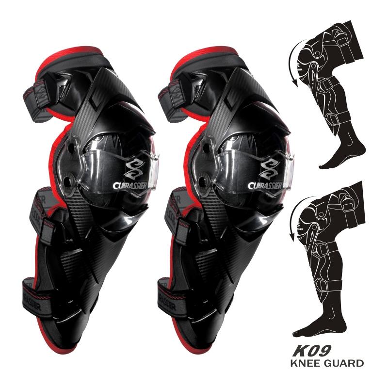 cuirassier K09 Красный Свободный размер защитные колпаки для мотоциклов kneepad protective kneepad protector mx off road