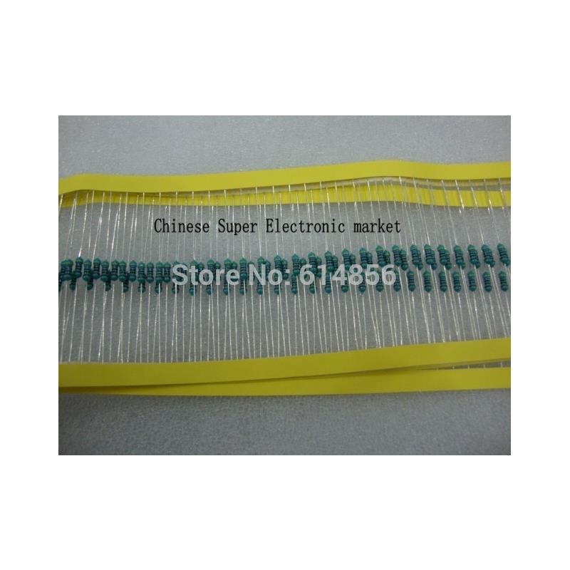 IC 200pcs 1 4w watt 200r ohm 200r metal film resistor 0 25w 1% rohs