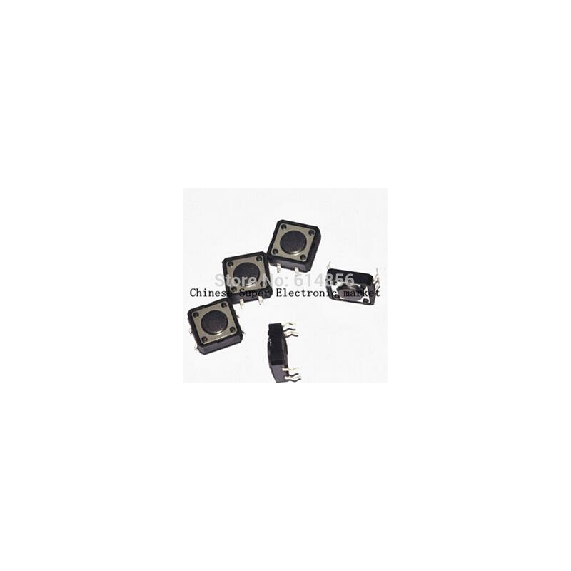 IC 20pcs dip 4pins tactile push button switch 12x12x4 3 mm 12 12 4 3mm